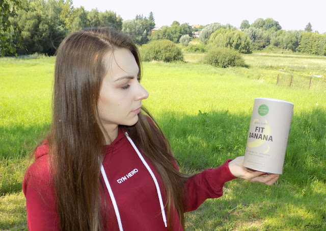Droga do piękna z Natural Mojo. Shake proteinowy Fit Banana
