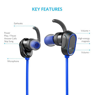 Product Details Anker Magnetic Wireless Bluetooth Headphones