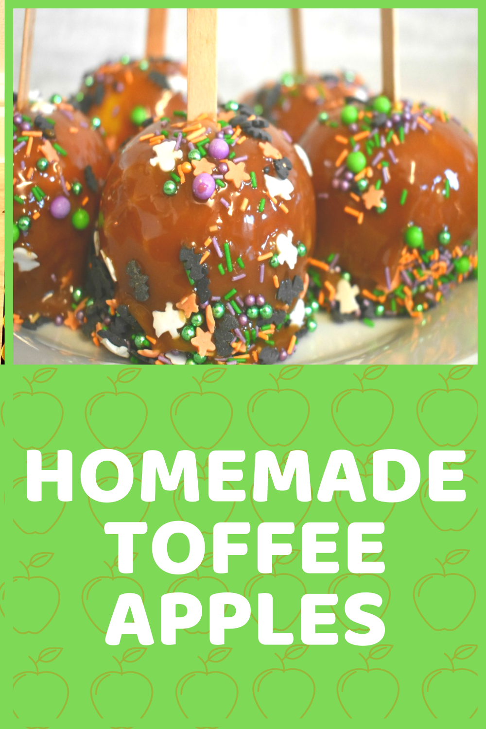 Easy Homemade Toffee Apples