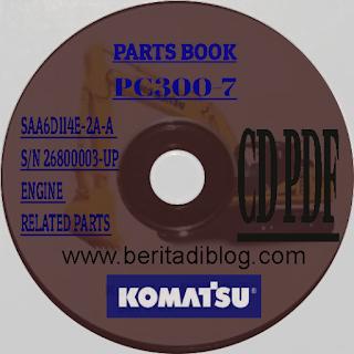 Komatsu Parts Book PC300-7