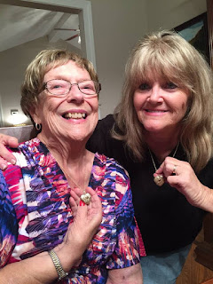 Betty Morton with daughter-in-law Donna