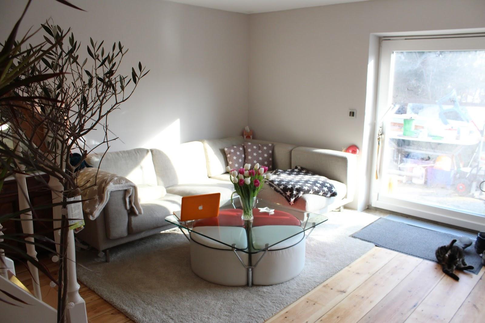Sofa Vor Fenster rundgang wohnzimmer und küche hausbau