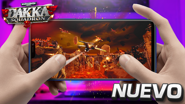 Nuevo Juego Para Android | Warhammer 40,000: Dakka Squadron