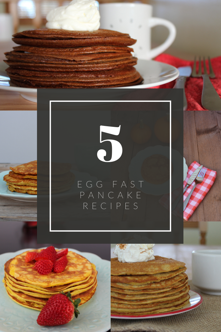 5 Egg Fast Pancake Recipes
