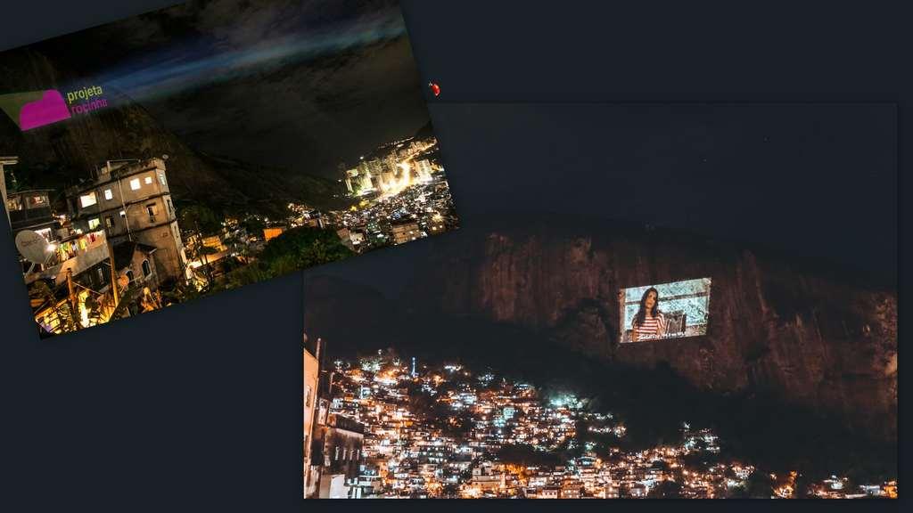 """""""Projeta Rocinha"""" aconteceu no último fim de semana com a apresentação de vídeos selecionados do canal Filtr Brasil"""
