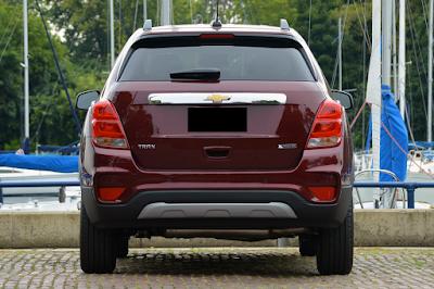 Eksterior Chevrolet Trax Facelift Tampak Belakang