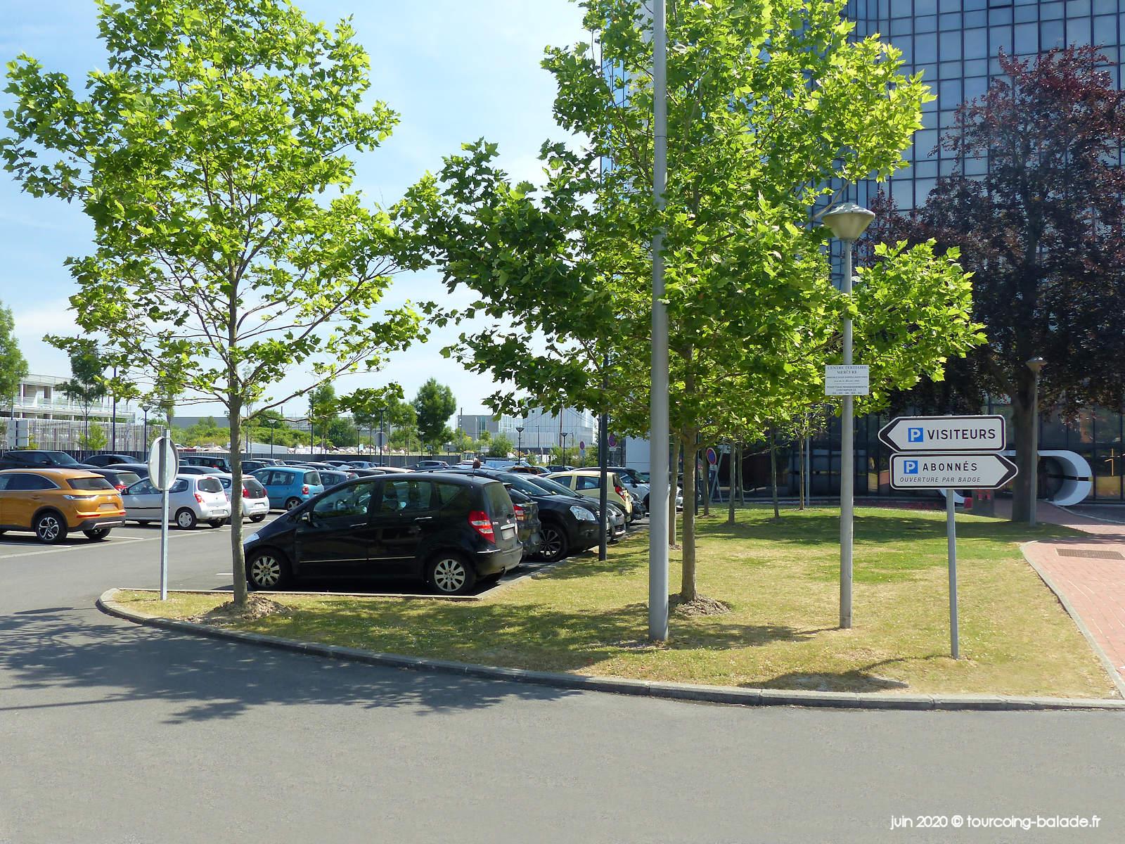 Parking public Tour Mercure Tourcoing, 2020