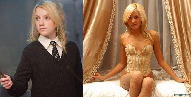 Evanna Patricia Lynch a Luna de Harry Potter, totalmente nua!