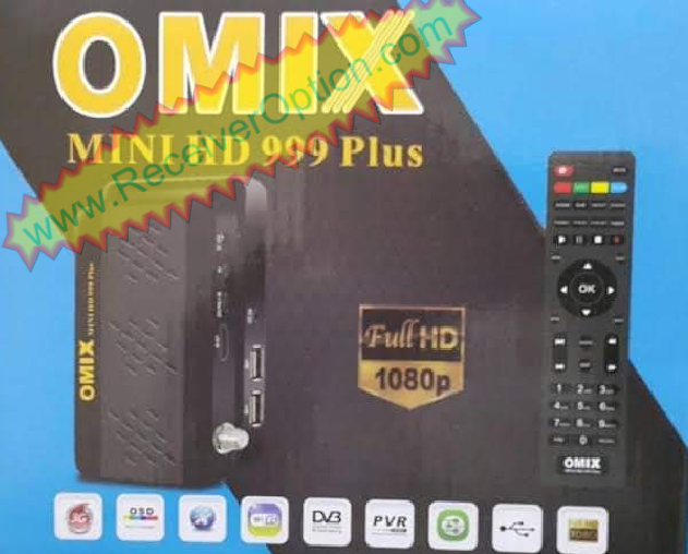 OMIX MINI HD 999 PLUS 1507G 1G 8M NEW SOFTWARE WITH MR AUDIO
