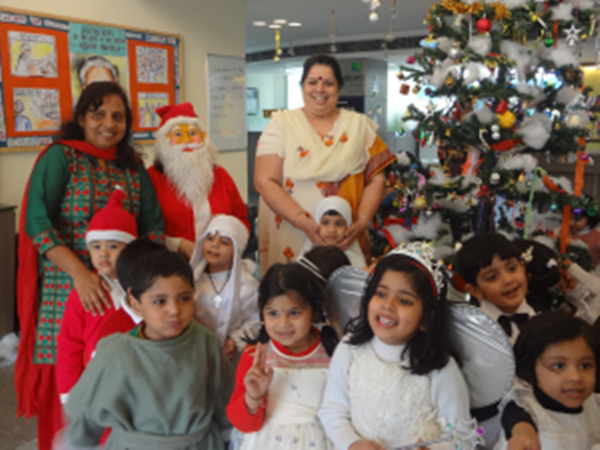 Christmas Celebrations at The Millennium School, Sector 41, Noida