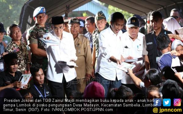 Presiden Jokowi Datang, Warga: Uang Saja Pak!