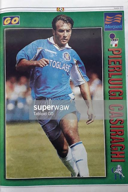 PIERLUIGI CASIRAGHI CHELSEA FC 1998