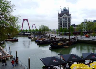 Dicas de roteiro por Rotterdam - Oudehaven e Witte Huis