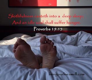 Proverbs 19:15