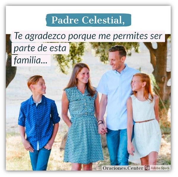 Oración: Mi Familia en Dios