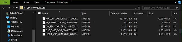 Cara Mudah Ekstrak File Samsung PIT Dari Firmware Samsung