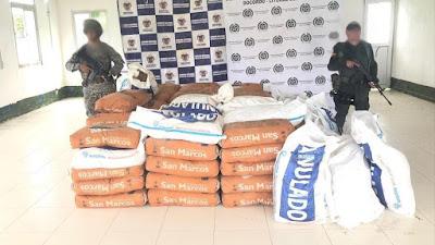 Policía y Armada incautan insumos para el procesamiento de Narcóticos en Docordó