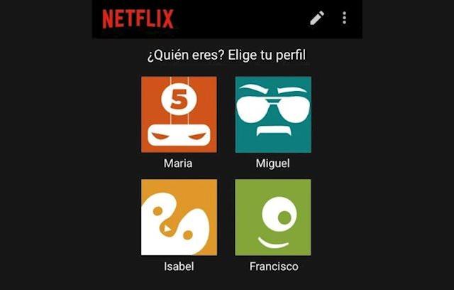 Netflix cuentas compartidas