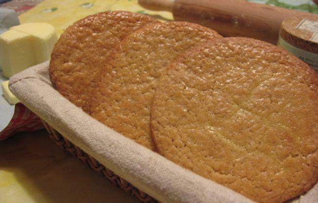 Genuine Breton sanded cakes