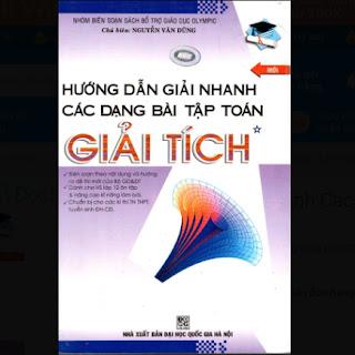 Hướng Dẫn Giải Nhanh Các Dạng Bài Tập Toán Giải Tích (Tập 1) ebook PDF-EPUB-AWZ3-PRC-MOBI