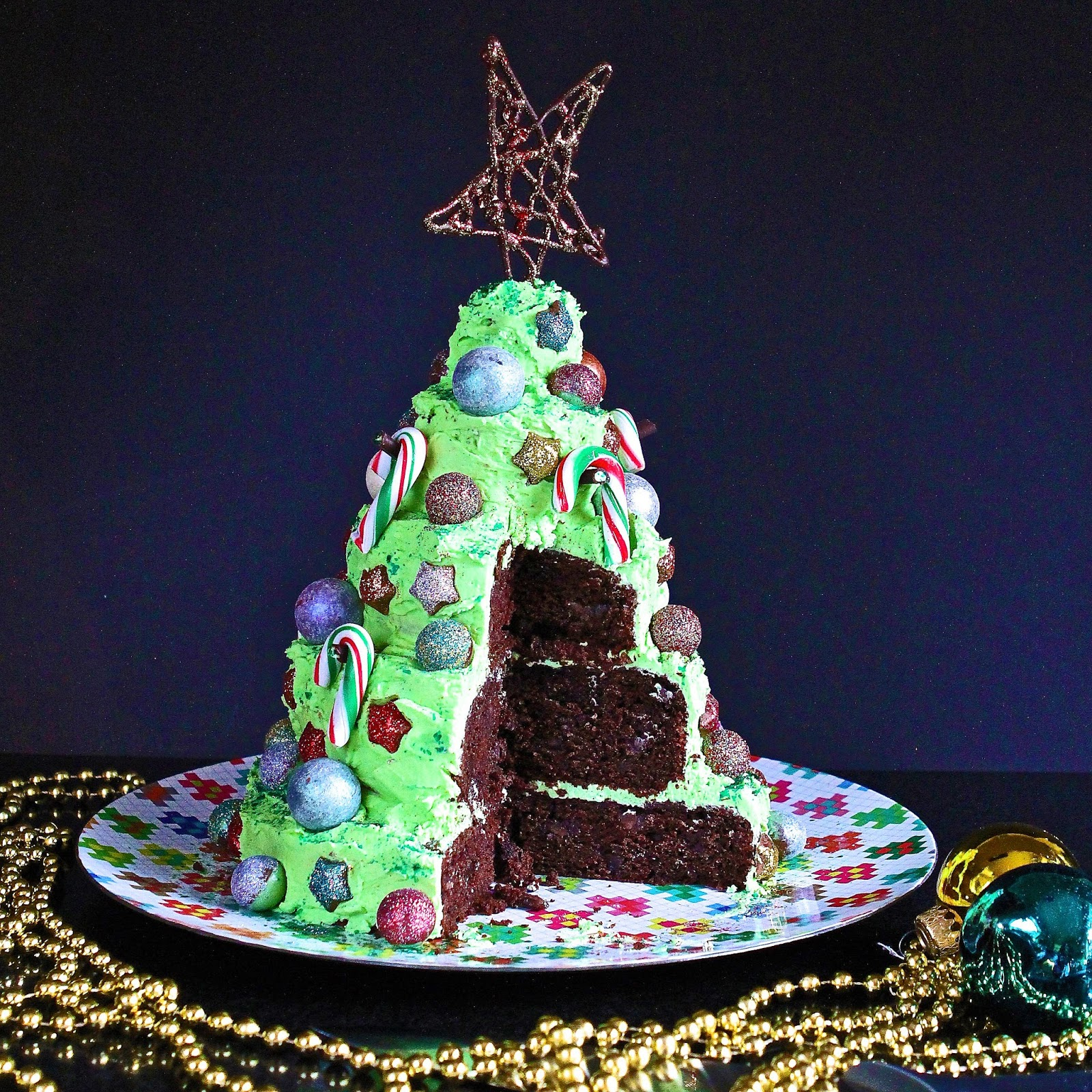 Gluten Free Alchemist: Layered Chocolate-Mint Christmas