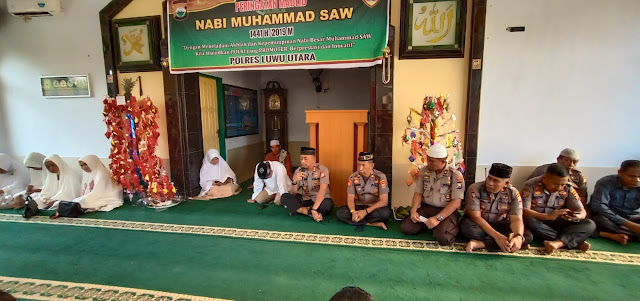 Peringati Maulid Nabi Muhammad SAW, Ini Pesan Kapolres Luwu Utara