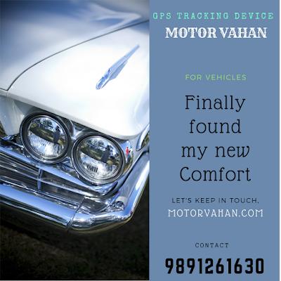 GPS Vehicle Trackers in Delhi/NCR/India - MotorVahan.Com