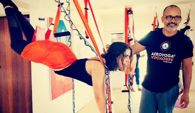 yoga aéreo brasil e portugal