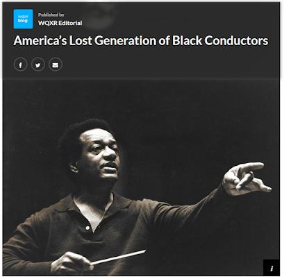 WQXR.org: America s Lost Generation of Black Conductors