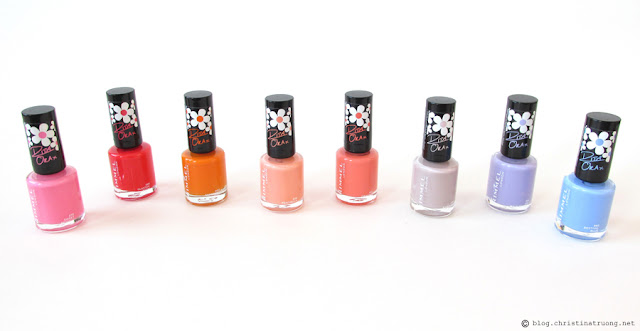 Rimmel London 60 Seconds Super Shine Nail Polish by Rita Ora Collection