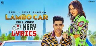 Lambo Car Lyrics By Guri, Simar Kaur