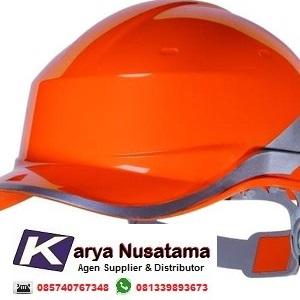 Jual Delta Plus Helm Proyek Berkualitas Warna Orange di Makasar