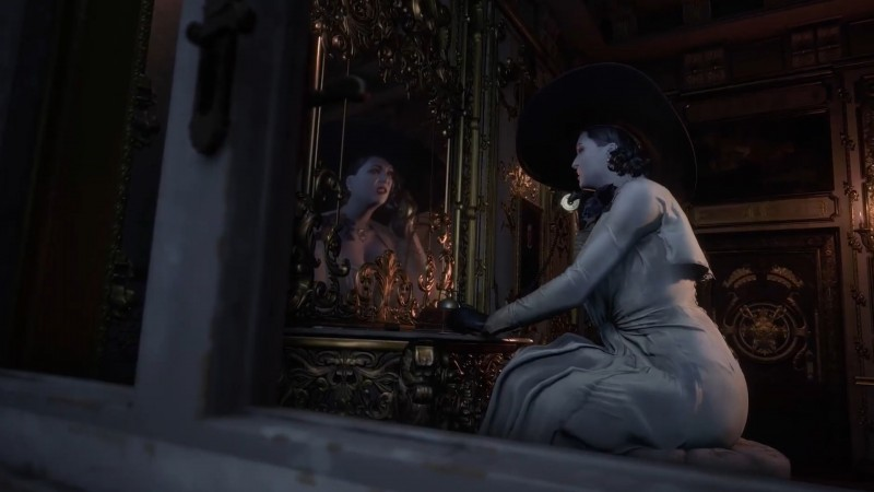 Resident Evil Village art director surprised by reaction to Lady Dimitrescu