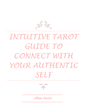 FREE Intuitive Tarot Cheat Sheet