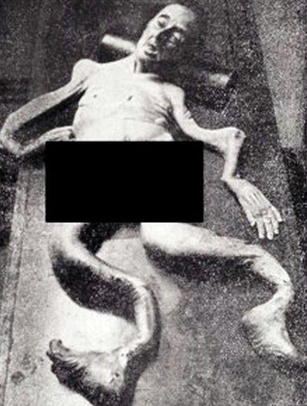 gambar orang aneh wanita seperti cumi cumi tanpa tulang