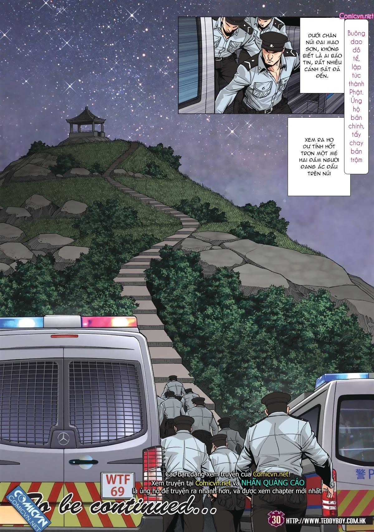 Người Trong Giang Hồ chapter 1985: bốc shit trang 27