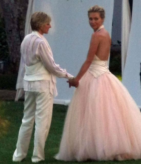 Portia De Rossi Wedding Gown: Que Es Tendencia: Repasamos Algunas Bodas