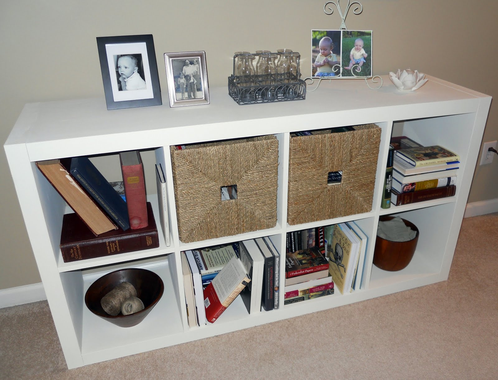 Ikea Expedit Chalk Paint 1060 Bliss A Little Bookshelf And A Chalk Paint Review