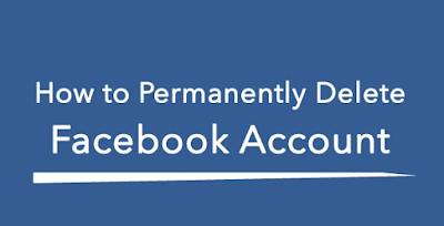 Delete Facebook Account Permanently 2019