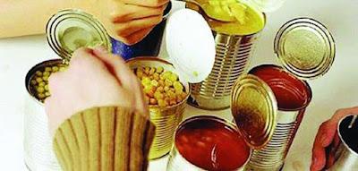 المنتجات الغذائية المعلبة أضرارها وفوائدها