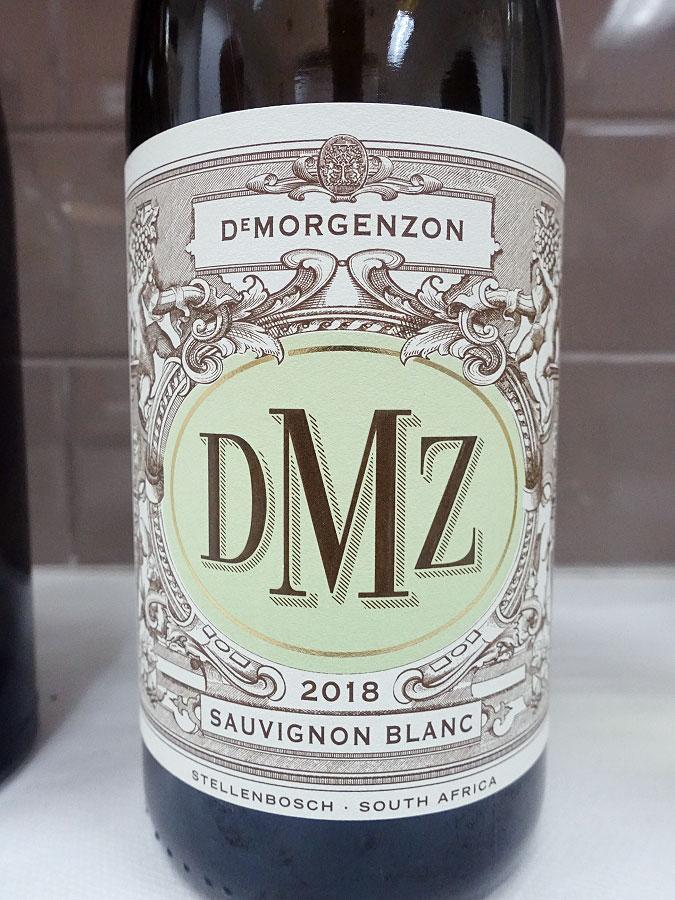 DeMorgenzon DMZ Sauvignon Blanc 2018 (88+ pts)