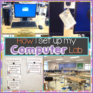 How I set up my computer lab Brittany Washburn
