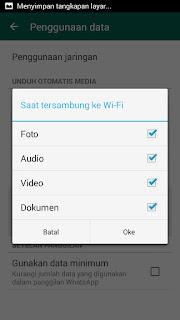 Mengatasi Save Otomatis Whatsapp