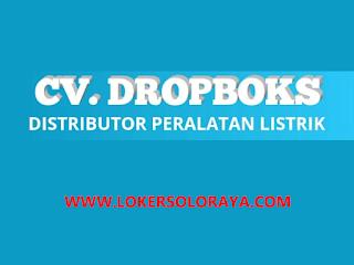 Loker Sales Area Klaten di CV Dropboks