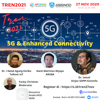 Webinar TREN2021 5G & Enhanced Connectivity - 27 Nov 2020
