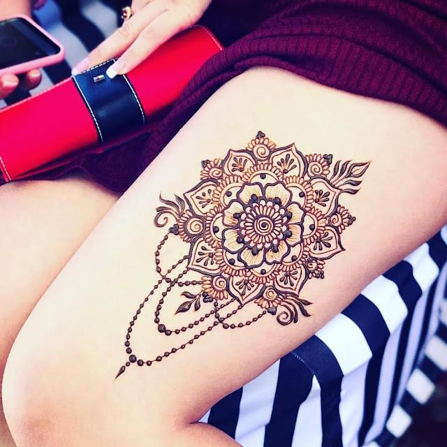 simple mehndi arabic designs