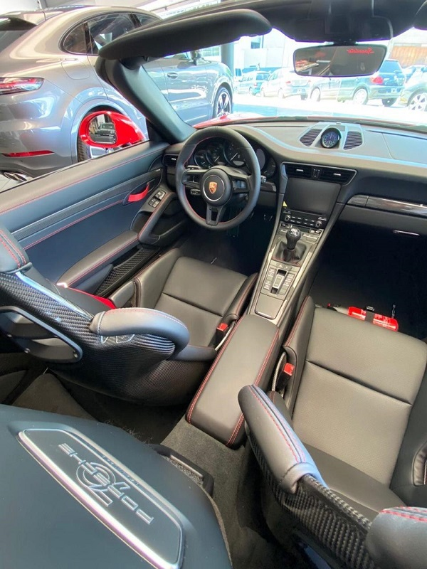 Interior Porsche 911 Speedster Argentina