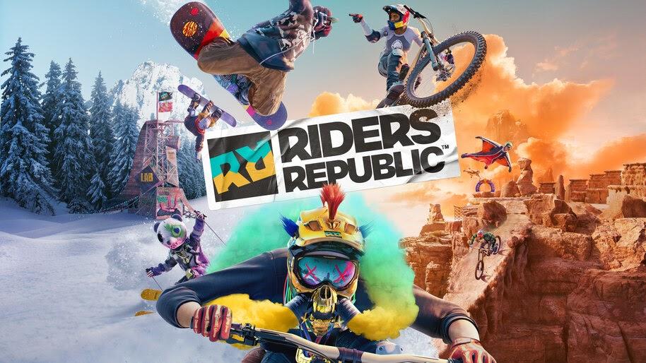 Riders Republic, Key Art, 8K, #7.2737