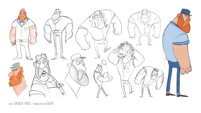 character design by Lorenzo Sabia