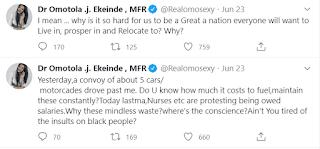 Omotola Jalade questions Nigerians